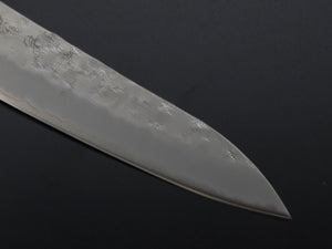 KICHIJI GINSAN NASHIJI GYUTO 210MM RED WINE HANDLE