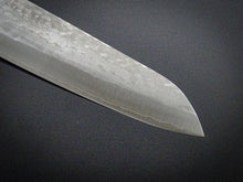 Load image into Gallery viewer, MASUTANI VG-1 GOLD HAMMERED GYUTO 180MM