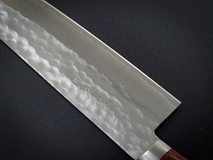 MASUTANI VG-1 GOLD HAMMERED GYUTO 180MM