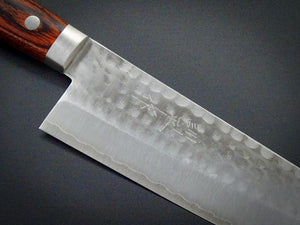 MASUTANI VG-1 GOLD HAMMERED SANTOKU 165MM