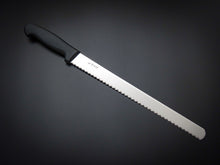 Load image into Gallery viewer, HITOHIRA HIRAGANA AUS-8 BREAD KNIFE 300MM