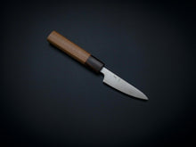 Load image into Gallery viewer, HITOHIRA GINSAN HIRAGANA PARING KNIFE 80MM CHERRYWOOD HANDLE