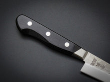 Load image into Gallery viewer, KICHIJI HAMMERED AOGAMI STAINLESS CLAD PETTY KNIFE 135MM
