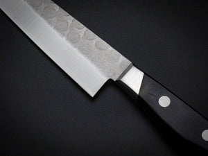 KICHIJI HAMMERED AOGAMI STAINLESS CLAD PETTY KNIFE 135MM