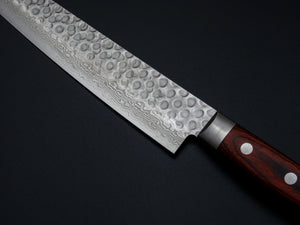 KICHIJI VG-10 33 LAYER HAMMERED DAMASCUS SUJIHIKI 240MM