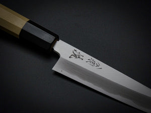 OUL SHIROGAMI1 PETTY 150MM OCTAGONAL HANDLE FORGED BY YOSHIKAZU TANAKA