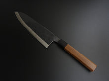 Load image into Gallery viewer, MUNEISHI KUROUCHI AOGAMI2 STAINLESS CLAD GYUTO 220MM WALNUT WOOD HANDLE