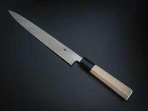 HITOHIRA AOGAMI1 YANAGIBA 270MM MAGNOLIA WOOD OCTAGONAL HANDLE