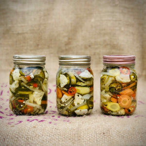 Mexican Spicy Pickled Vegetables
