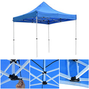 InstaHibit Easy Pop-up Tent Comml. Canopy 10x10ft CPAI-84