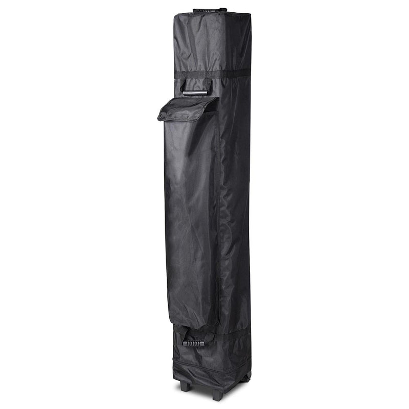 InstaHibit 10x10 Pop Up Canopy Storage Bag w/ Wheels 12x11x63""