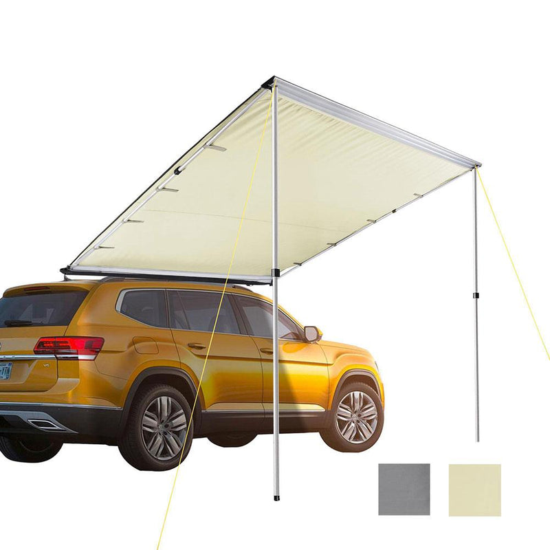 "TheDIYOutlet Retracted Car Rooftop Side Awning Shade 8' 2""x7' 8"" (Preorder)"