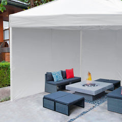 1pc Canopy Sidewall 1080D 10x7 ft