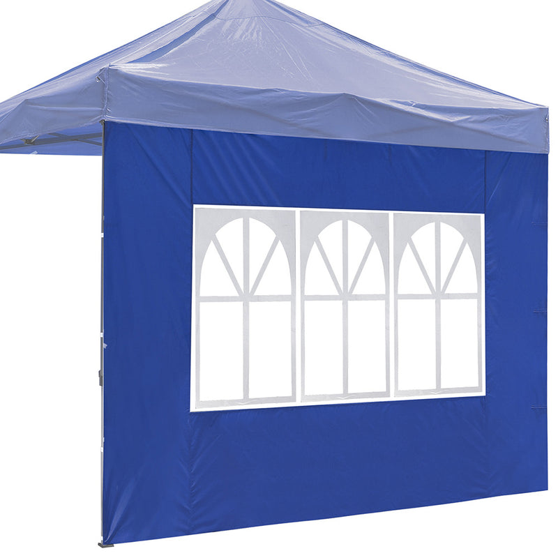 TheDIYOutlet Sidewall with Window for Ez Up Canopy 1-pack