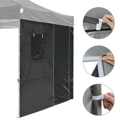 1pc Sidewall with Door Window for 10x10 Canopy