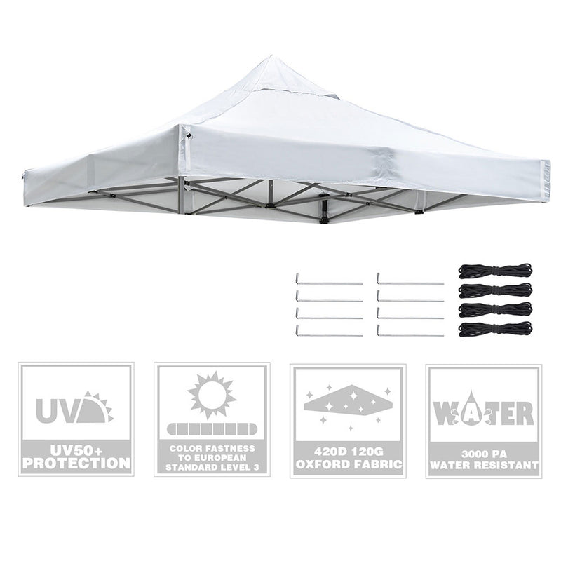 "TheDIYOutlet 10x10ft(9'7""x9'7"") PopUp Canopy Replacement Top Vent"