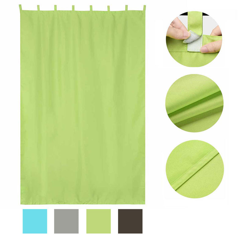 TheDIYOutlet Outdoor Porch Curtain Tab Top 54x108
