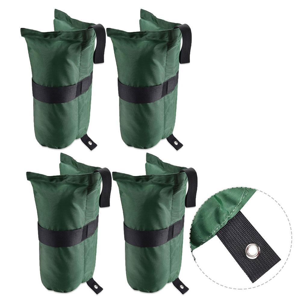 Set Of 4 Canopy Weight Bags Built In Anchor Grommet The
