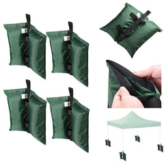 Set of 4 Canopy Weight Bags for Instant Tents Gazebos