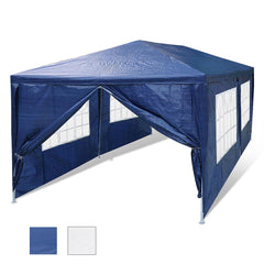 TheDIYOutlet 10 x 20 ft Outdoor Wedding Party Tent w/ 6 Sidewalls Color Optional (Preorder)