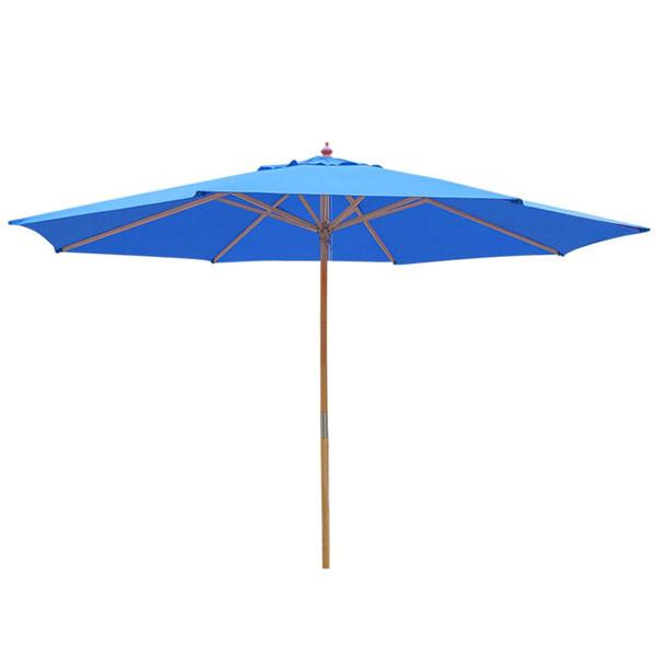 TheDIYOutlet 13 Foot Wooden Patio Umbrella Color Options