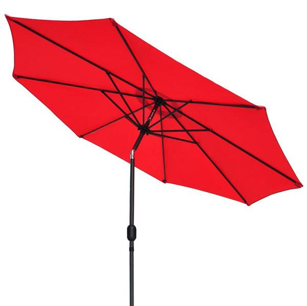 9 Foot Tilting Outdoor Patio Umbrella Color Options