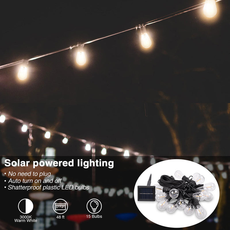 Outdoor Solar LED Light Waterproof Christmas Lighting