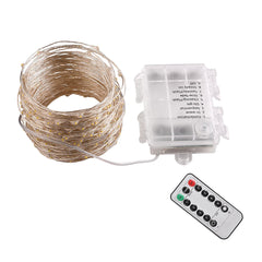 TheDIYOutlet LED String Light Remote Waterproof Christmas Light 66ft
