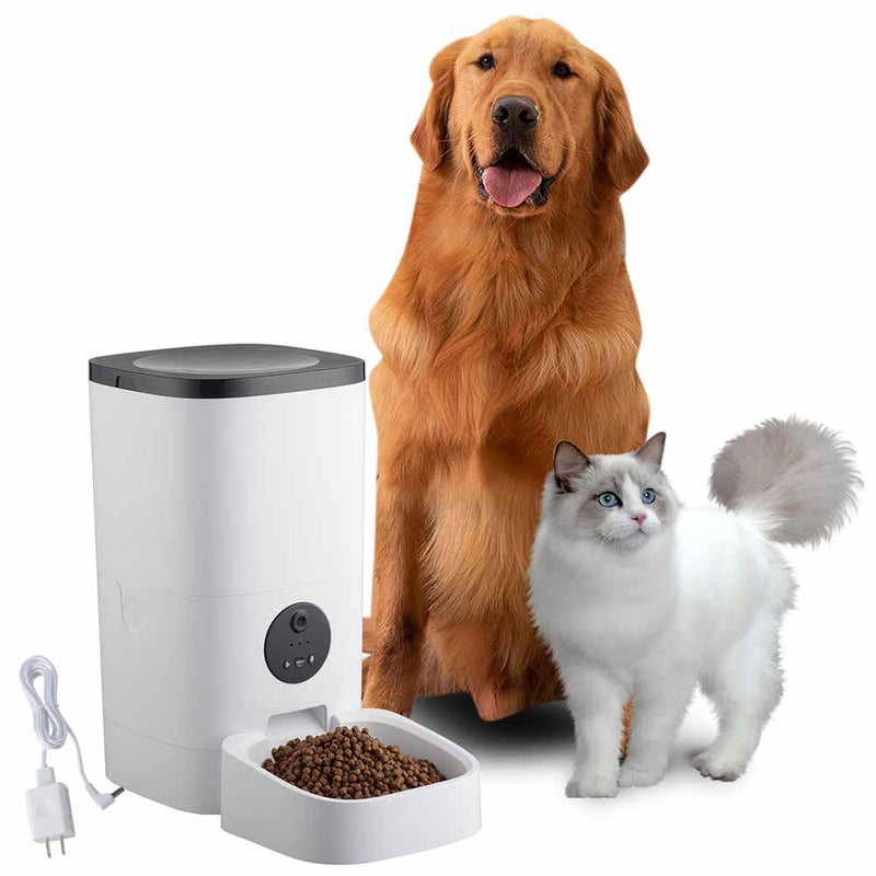 Smart Pet Feeder with Camera, App, Portion Control, 2Way Chat