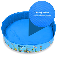 Portable Paw Pool Dogs Kids Ball Pool