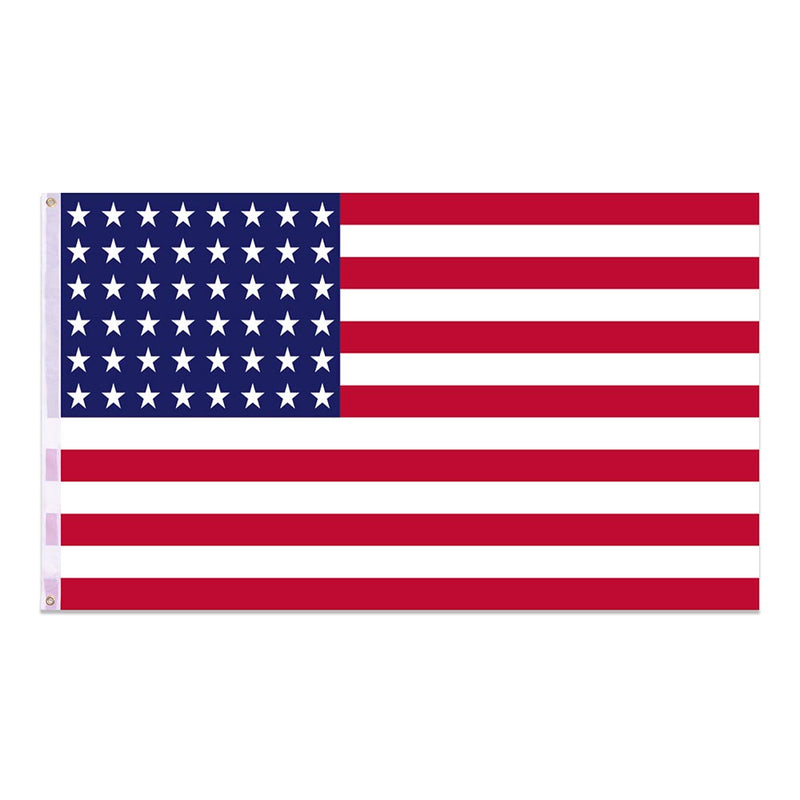 US American Flag Star Stripe with hoisting grommets
