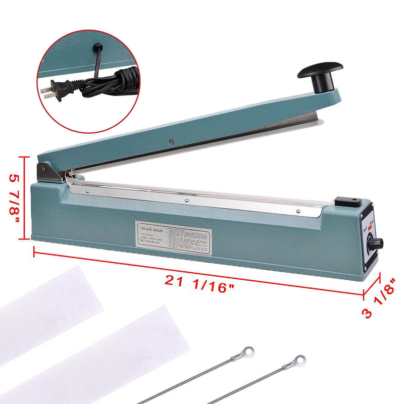 "TheDIYOutlet 16"" Impulse Handheld Poly Bag Sealing Machine"