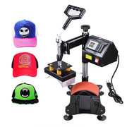 TheDIYOutlet Heat Press Machine for Hats 6x3 in Digital Controller