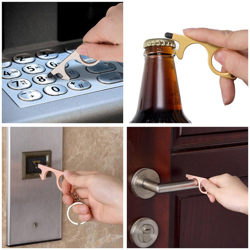 No Touch Door Opener Metal Safe Touch Key