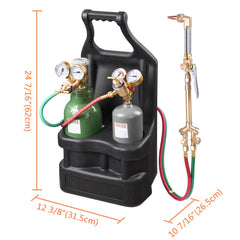 TheDIYOutlet DOT Oxy Acetylene Victor-style Welding Cutting Tote Torch Kit