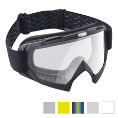 TheDIYOutlet Dirt Bike Goggles Bendable Motocross BMX ATV Glasses