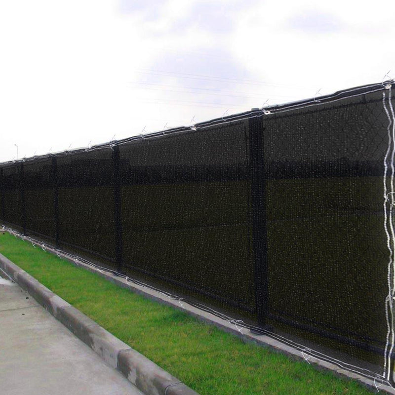TheDIYOutlet 6'x25' 90% Mesh Privacy Fencing Net Color Option