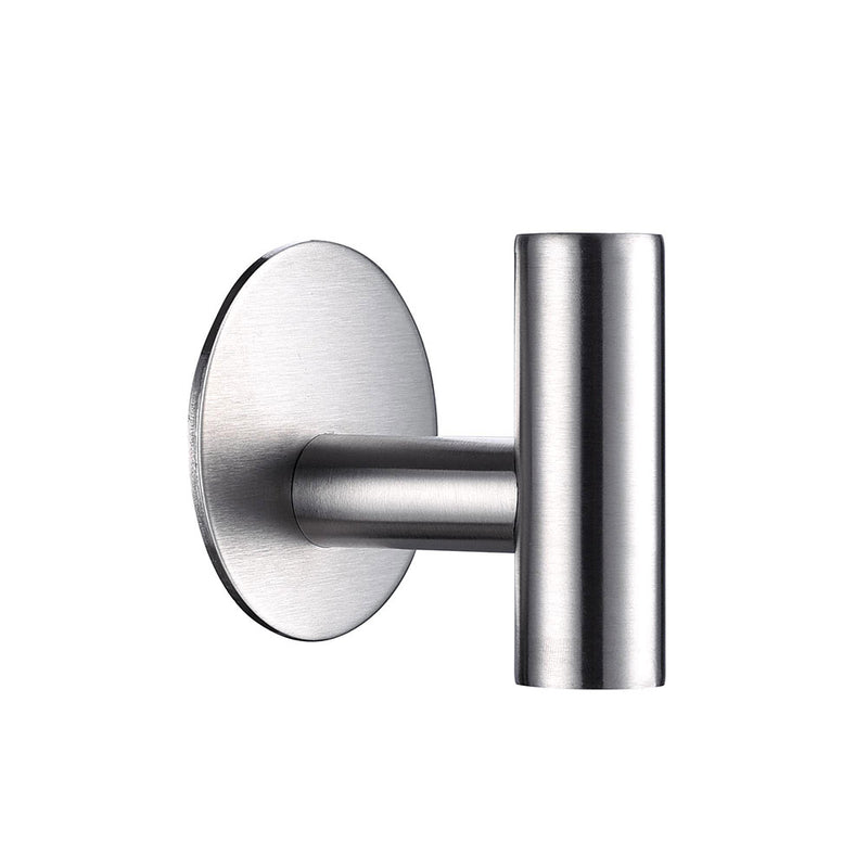 TheDIYOutlet Towel Hooks Robe Hooks Stainless Steel Brushed Nickel 2-Pack