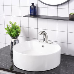 TheDIYOutlet Auto Sensor Touchless Bathroom Lavatory Faucet Finish Options