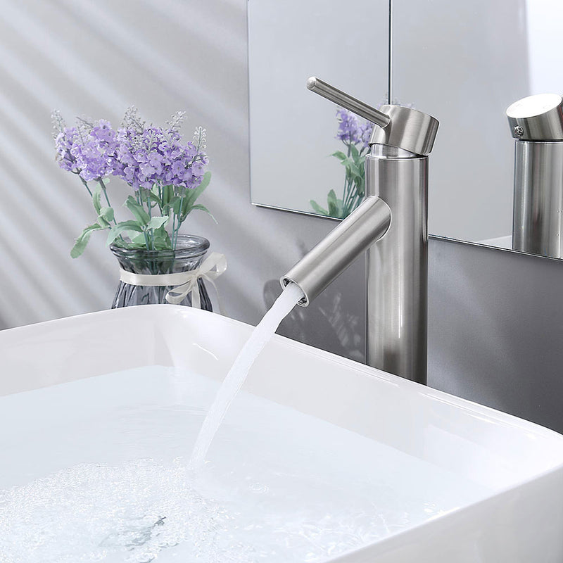 "Aquaterior Bathroom Vessel Faucet Single-Hole 13""H"