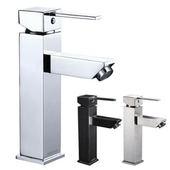 Aquaterior Bathroom Faucet Single-Hole Square 8