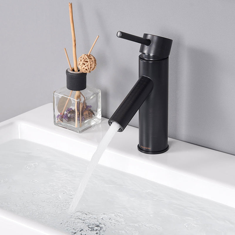 "Aquaterior Bathroom Faucet Single-Hole 7.5""H"