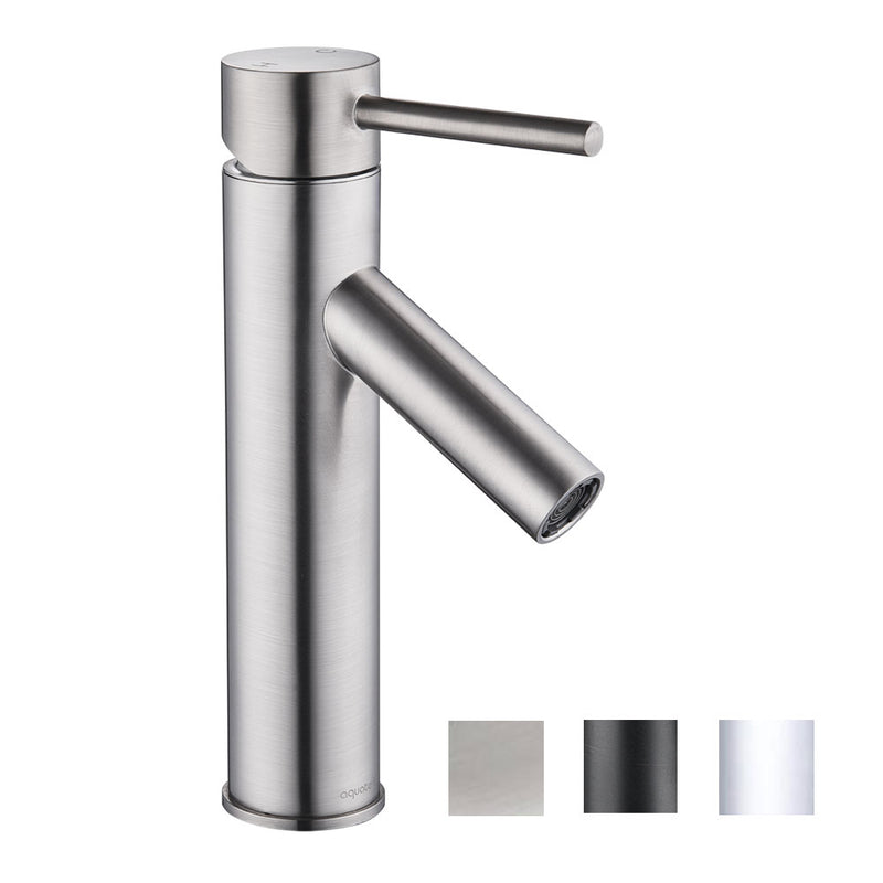 "Aquaterior Bathroom Faucet Single-Hole 9""H"