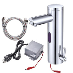 Aquaterior Auto Sensor Touchless Bathroom Faucet Hot & Cold 8