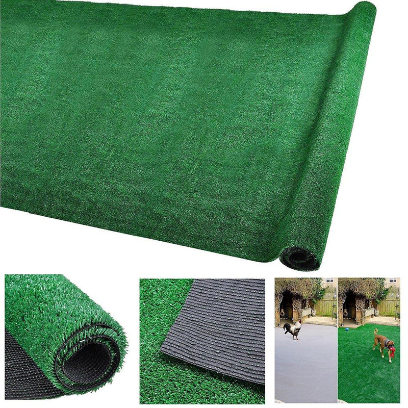 "TheDIYOutlet Artificial Grass Turf Fake Grass for Dogs 65'x6', 3/8"" Thick"