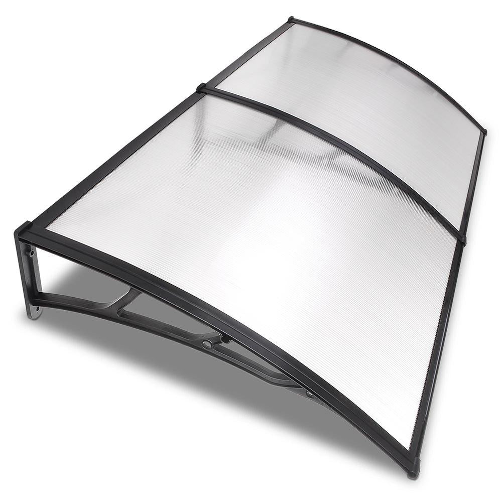 6.5ft Awning Patio Cover Rain Protection Window Clear ...