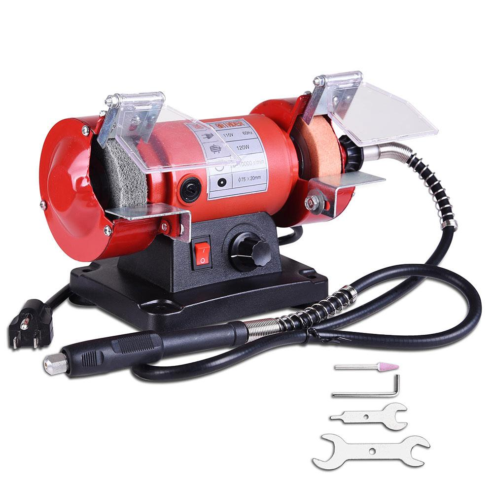 Remarkable 3 In Variable Speed Mini Bench Grinder Polisher W Flex Pdpeps Interior Chair Design Pdpepsorg