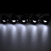 TheDIYOutlet 10x Waterproof LED Step Deck Lights w/ Transformer Cool White