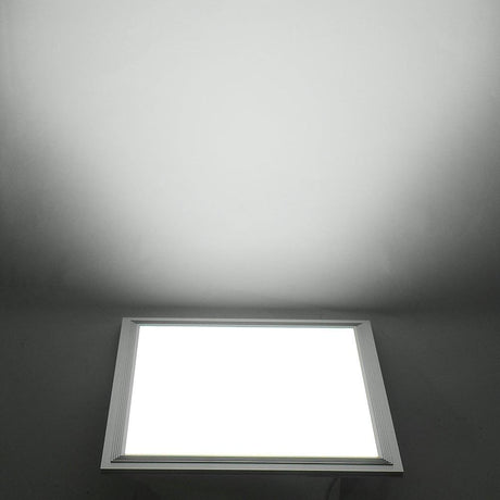 DELight 12W LED Ceiling Light Fixture Square Panel Cool White