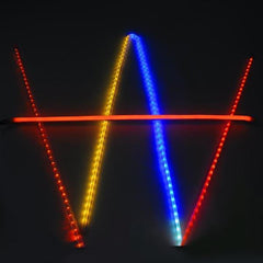 DELight 5 Piece 3 Foot Clear PVC Channel Moun for Neon Rope Lights